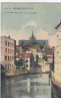 MECHELEN / OLV KERK EN DE DIJLE  1914 - Malines