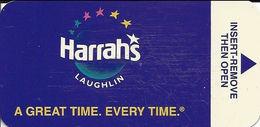 Harrah's Casino - Laughlin NV - Narrow Hotel Room Key Card - Hotel Keycards