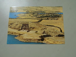 EGYPTE ABU SIMBEL VUE AERIENNE DES TEMPLES - Egypt