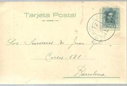 TARJETA POSTAL  1928  CAMPELLO   ALICANTE - 1889-1931 Regno: Alfonso XIII