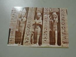 EGYPTE ABU SIMBEL SOME STATUES OF ABOU SIMBEL - Egypt