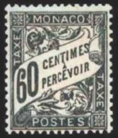 TIMBRE - MONACO -  - Taxe 21 - Neuf - Portomarken