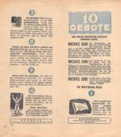 WWII WW2 Flugblatt Tract Leaflet Soviet Propaganda Against Germany  CODE 1782 - 1939-45