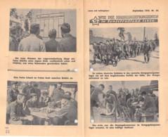 "WWII WW2 Flugblatt Tract Leaflet ""WIE DIE KRIEGSGEFANGENEN IN SOWIETRUSSLAND LEBEN"" September 1942 Nr. 59  CODE 1838 - 1939-45"