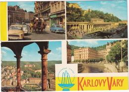 Karlovy Vary: SKODA OCTAVIA, VW 1200 KÄFER/COX, WARTBURG 311 - HORSE & COACH  - (CSSR) - Passenger Cars
