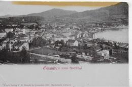 AK 0276  Gmunden Vom Hochkogl - Verlag Brandt Um 1901 - Gmunden