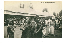 KENIA NAIROBI STAZIONE GARE TRENO - Kenia