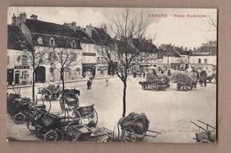 CPA 21 - BEAUNE - Place Madeleine - TB PLAN CENTRE VILLE TB ATTELAGES - Marché Au FOIN ? - Beaune