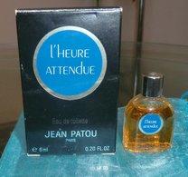 L' HEUR ATTENDUE - EDT 6 ML De JEAN PATOU - Modern Miniatures (from 1961)