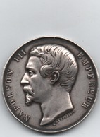 Napoléon III   Comice Agricole   Charolles Saône & Loire  20 Gr 35 Mm - France