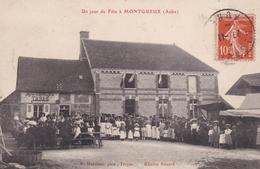 10............MONTGUEUX  .............un Jour De Fête à MONTGUEUX..........  Réf     133 - Other Municipalities
