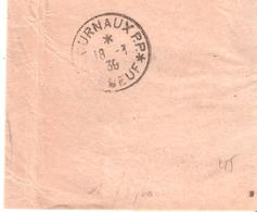 Calvados :- * JOURNAUX P.P. * ELBEUF Sur Bande Journal - Marcophilie (Lettres)