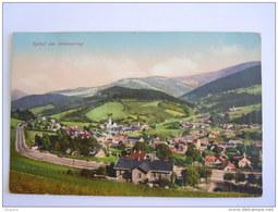 Cpa Autriche Spital Am Semmering  Ligne De Train Circulée 1918 Purger - Steinhaus Am Semmering