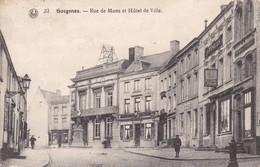 619 Soignies Rue De Mons Et Hotel De Ville - Soignies
