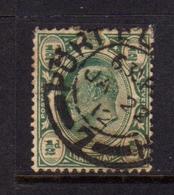 TRANSVAAL 1902 1903 KING EDWARD VII RE EDOARDO HALF PENNY 1/2p USATO USED OBLITERE' - Sud Africa (...-1961)