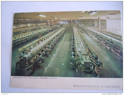 Japan Japon Matsushita Electric Matsushita's  Television Assembly Plant - Japon