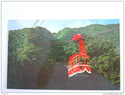 Taiwan The Newly Installed Cable Car At Wulai To The Cascade - Taiwan