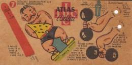 ALTHEROPHILIE ,,cirque Et Découpage Sport,, à Voir Et Lire ,super (lot12) - Deportes