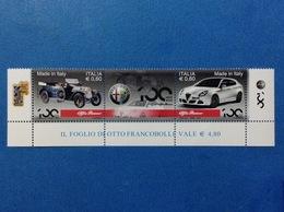 2010 ITALIA AUTO ALFA ROMEO MADE IN ITALY FRANCOBOLLI NUOVI STAMPS NEW MNH** - 2001-10: Mint/hinged