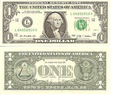 USA  1 Dollar  L  2009  UNC - Federal Reserve Notes (1928-...)