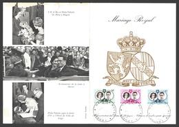 1960 1169/1171 FDC Feuillet Double De La Poste - Français - 1951-60
