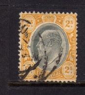 TRANSVAAL 1902 1903 KING EDWARD VII RE EDOARDO SHILLING 2sh USATO USED OBLITERE' - Sud Africa (...-1961)