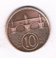 10 HALLER  1937  TSJECHOSLOWAKIJE /5210/ - Tchécoslovaquie
