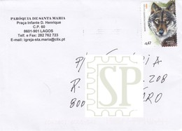 Portugal 2016 Mamíferos Predadores Canis Lupus Faune Mammifères Mammals Wolf Loup Säugetiere Animais Animals Animaux - 1910-... Republik