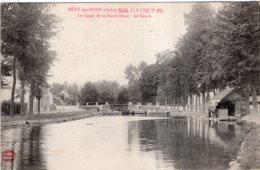 MERY SUR SEINE LE CANAL DE LA HAUTE SEINE LE BASSIN TBE - Other Municipalities