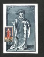 BELGIQUE - BELGIE - Carte MAXIMUM 1959 - BRUXELLES - Charles Le Téméraire - Cartoline Maximum