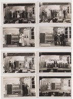 Lot 8 Photos Theatre Au Stalag  1943 - Guerre, Militaire