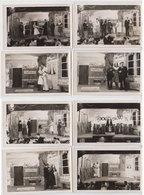 Lot 8 Photos Theatre Au Stalag  1943 - War, Military