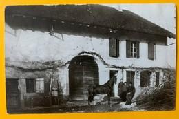 8822 - RARE Villars-Ste-Croix Ferme Bourgeois  (petit Trou De Punaise) - VD Vaud