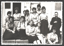 Originele Fotokaart / Carte Photo Originale - Agfa - Meisjes Jeugdbeweging / Girls Youth Movement - Groepsfoto - Scoutisme