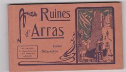 62 Arras Carnet Ruines D'arras 19 Cartes - Arras