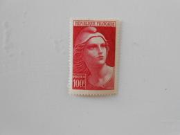 FRANCE YT733a MARIANNE DE GANDON 100f. Rose* - Neufs