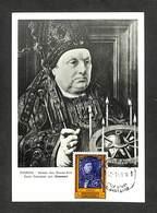 BELGIQUE - BELGIE - Carte MAXIMUM 1959 - TOURNAI - Saint Donatien Par Gossaert - Cartoline Maximum