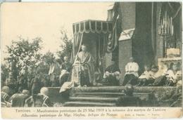 Tamines; Manifestation Patriotique Du 25 Mai 1919 - Non Voyagé. (J. Paquier - Namur) - Sambreville