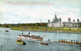 CANADA - Waterfront & Ontario Government Government Building Canadaian National Exhibition - Exposiciones
