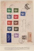 DULAC Lettre Par Exprès Pour Le Maroc Pas De Surtaxe Aérienne Pour L'Afrique à La Date De L'envoi - 1944-45 Marianna Di Dulac