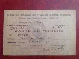 Etudiant D'action Française Viaud Consul De France - Zonder Classificatie