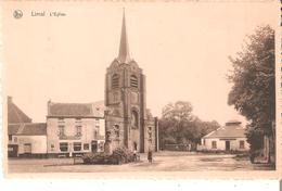 CP. De LIMAL - L'Eglise Avec Café Export Vandenheuvel.en 1951 - Belgique