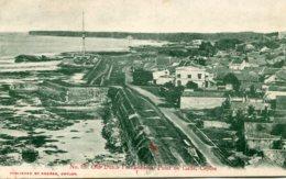 SRI LANKA (Ceylon) - Old Dutch Fortifications Point De Galle - Iteresting Message Tec 1908 - Sri Lanka (Ceylon)