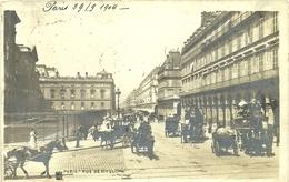 ( TRANSPORTS )( VOITURES  ) ( PARIS ) RUE DE RIVOLI - Cartes Postales