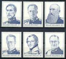 D - [154081]TB//**/Mnh-[2832/37] Belgique 1999, Dynastie, Les Rois Belges, Du Bloc 80, SC, SNC - Royalties, Royals