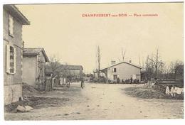 Champaubert-aux-Bois- Place Communale - Autres Communes