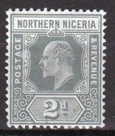 Northern Nigeria 1910 Edward VII  Two Penny Stamp. - Nigeria (...-1960)