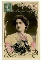 Carte Postale Ancienne Actrice De Cinéma Maud Féaly - Photographie Reutlinger - Acteurs