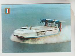 CPSM TRANSPORT BATEAU  - AEROGLISSEUR Jean BERTIN Liaison France Angleterre 400 Passagers 65 Véh. 260 T - Cartes Postales