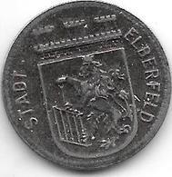 Notgeld Elberfeld 10 Pfennig 1917 Fe  3605.6 - Otros